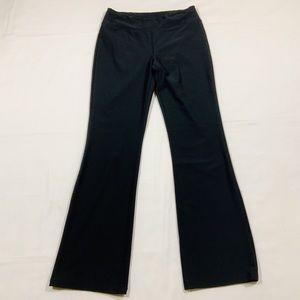 Lucy Black Yoga Pants Size Medium Large.